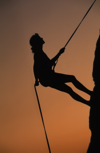 http://www.dreamstime.com/stock-photo-female-climber-rapelling-off-cliff-image28558900