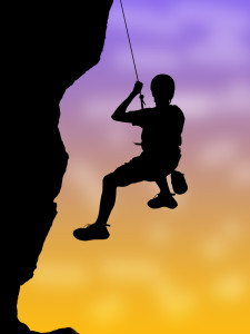 http://www.dreamstime.com/stock-photo-rock-climbing-image24416860