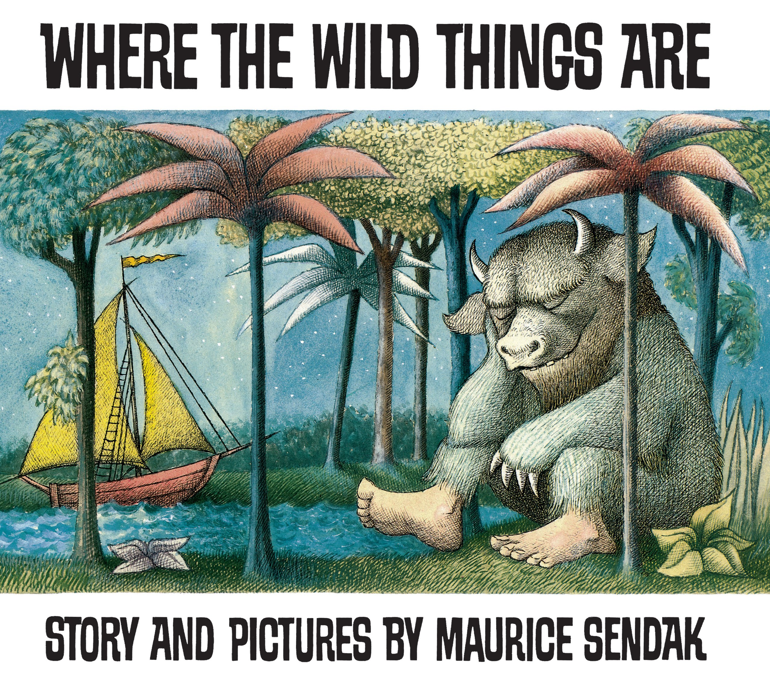 Where The Wild Things Are cover for post on lunar consciousness