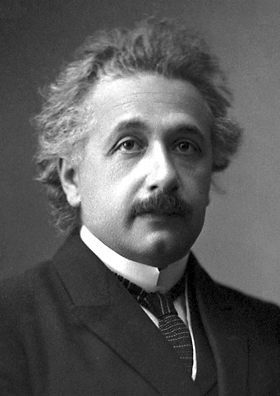 Nobel portrait of Albert Einstein -- for Empathy post
