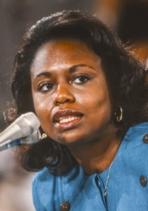 Anita Hill for speaking out post