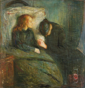 The Sick Child by Edvard Munch for Daughters blog post