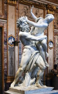 The Rape of Proserpina (1621-22) by Bernini for Depression post