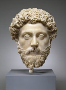 "Bust of Marcus Aurelius for ""Let It Go"" blog post"