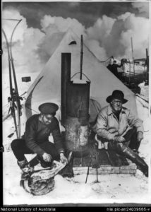 "Photo of Frank Hurley and Ernest Shackleton for ""Let It Go"" blog post"