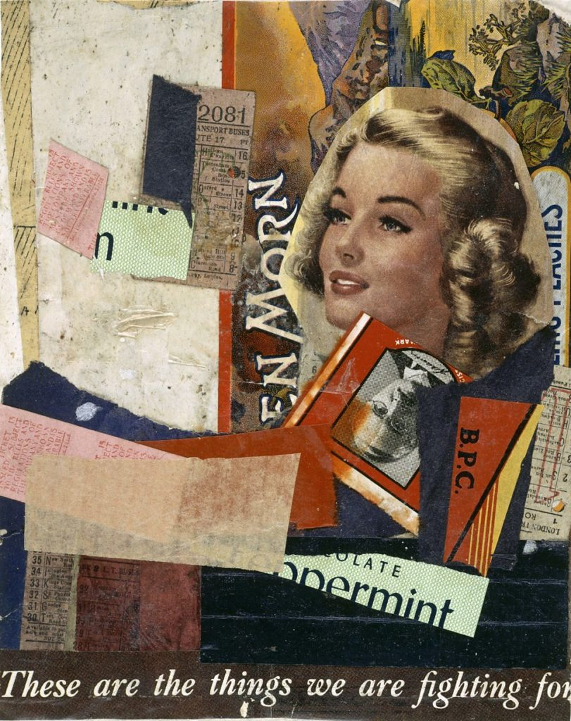 En Morn Schwitters collage for objects meaning blog post