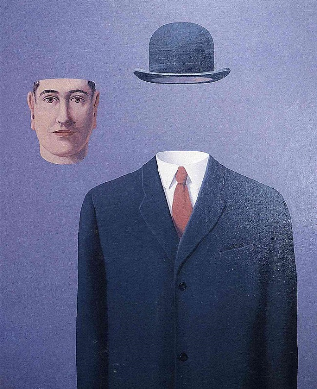 The Pilgrim by Magritte for Imposter Syndrome blog post