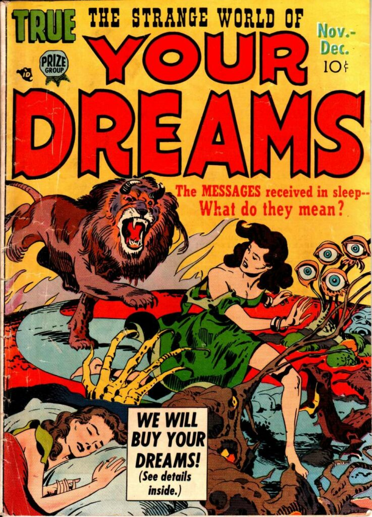 The Strange World of Your Dreams comic book cover for Jungian Dreams blog post