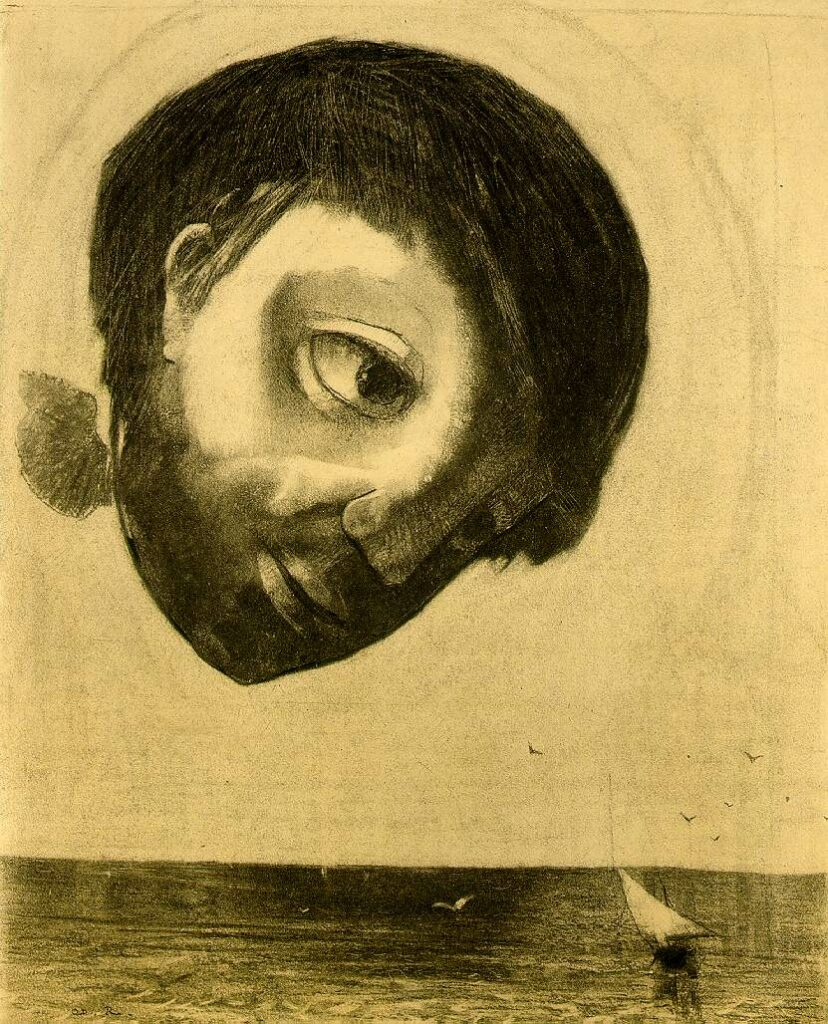 Guardian Spirit of the Waters by Odilon Redon for Archetypes blog post