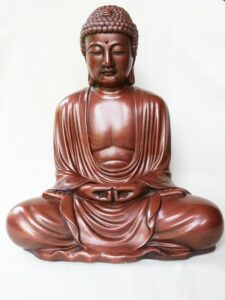 The Buddha in meditation for othering blog post