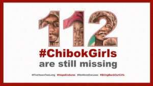 Poster from BringBackOurGirls.ng for empathy blog post